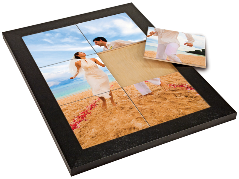 Tile Mural 14 5/8 x 20 5/8 Black Tile Frame for 6- 6″ x 6″ Ceramic ...